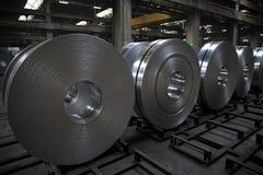 Bobina de alumínio Fotos de Stock Royalty Free