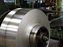 Bobina de aluminio Foto de archivo