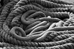 Bobina de la cuerda Imagen de archivo libre de regalías