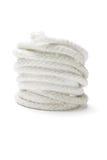 Bobina de la cuerda blanca Imagen de archivo libre de regalías