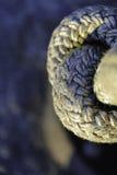 Bobina de la cuerda del nudo fotografía de archivo libre de regalías