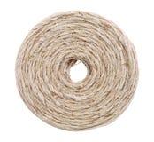 Bobina de la guita de lino Foto de archivo libre de regalías