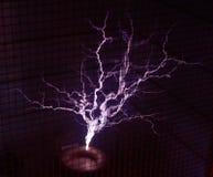 Bobina de Tesla Fotografia de Stock