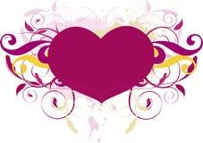 Bobina del cuore Fotografia Stock Libera da Diritti