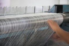 Bobina del filetto del cotone Fotografia Stock Libera da Diritti