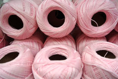 bobina del filo del cotone Immagine Stock