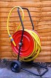 Bobina del tubo flessibile Fotografie Stock
