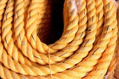Bobina della corda di nylon Immagini Stock