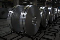 Bobina di alluminio Fotografia Stock