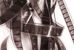 Bobina di pellicola fotografie stock