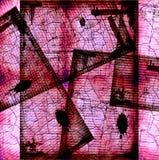 Bobina di pellicola trasparente di Grunge fotografie stock