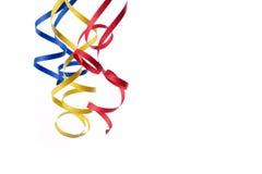 Bobinador de cintas en modo continuo de papel colorido Foto de archivo libre de regalías