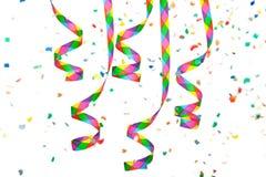 Bobinador de cintas en modo continuo de papel colorido Imágenes de archivo libres de regalías