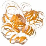 Bobinador de cintas en modo continuo rizado anaranjado del partido   Fotos de archivo libres de regalías
