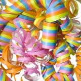 Bobinador de cintas en modo continuo rizado vibrante del partido Imagenes de archivo