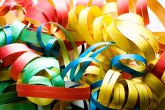 Bobinadores de cintas en modo continuo coloreados Foto de archivo libre de regalías