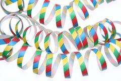 Bobinadores de cintas en modo continuo coloridos Fotos de archivo libres de regalías