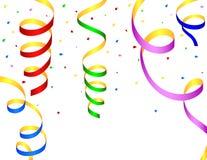 Bobinadores de cintas en modo continuo coloridos Foto de archivo libre de regalías