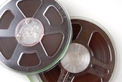 Bobinas de grabación audio Fotos de archivo libres de regalías