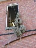 Bobinas de la cuerda Fotos de archivo