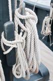 Bobinas de la cuerda en la Nina Fotografía de archivo