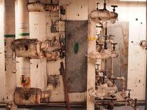 Bobinas de vapor de la HVAC Imagen de archivo