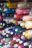 Bobinas del algodón Fotos de archivo libres de regalías