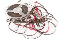 Bobine audio magnétique de vintage Images libres de droits