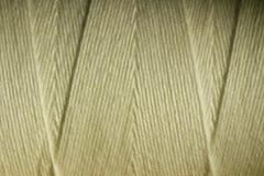 Bobine blanche chaude de fil Images stock