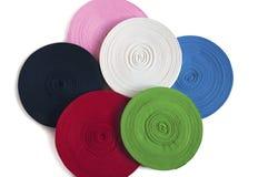 Bobine colorée des rubans Images libres de droits