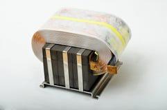 Bobine d'en cuivre de transformateur Image libre de droits