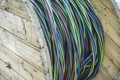 Bobine de câble électrique Image libre de droits