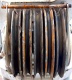 Bobine de Capstain pour le fil en métal Image libre de droits