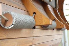 Bobine de corde décorative illustration de vecteur