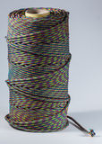 Bobine de corde sur le fond blanc Photos libres de droits