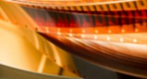 Bobine de film brouillée Photos libres de droits
