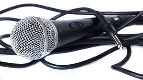 Bobine de MIC et de câble Images libres de droits