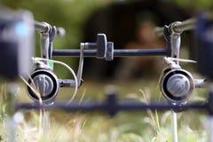 Bobine de pêche Photographie stock libre de droits
