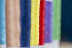 Bobine del filo variopinto Fotografia Stock Libera da Diritti