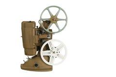 Bobine del proiettore e di pellicola dell'annata Fotografie Stock Libere da Diritti