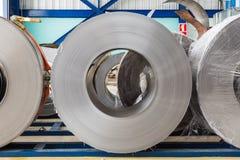 Bobine dell'acciaio Fotografie Stock Libere da Diritti