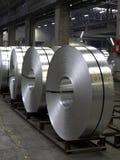 Bobine dell'alluminio Fotografia Stock Libera da Diritti