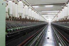 Bobine della corda del cotone Immagini Stock