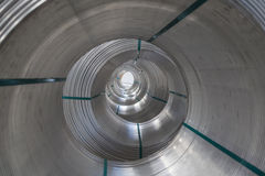 Bobine di alluminio Immagine Stock Libera da Diritti