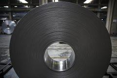 Bobine en aluminium Photo libre de droits