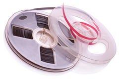 Bobine la bande magnétique pour enregistrement sonore photographie stock