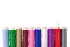 bobine Molto-colorate del filetto Fotografia Stock