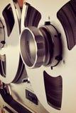 Bobine ouverte d'enregistreur de platine du dérouleur de bobine de stéréo analogue Images stock
