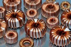 Bobines électriques Photo libre de droits