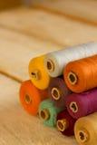 Bobines colorées images stock